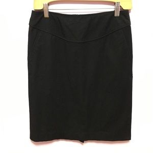 Banana Republic Stretch Twill Skirt w/ Pockets